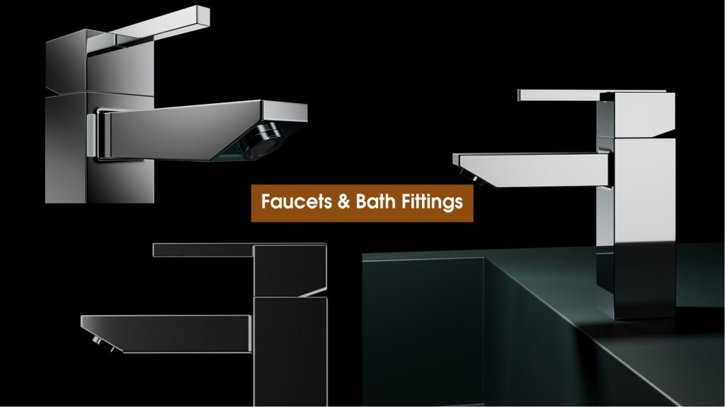 Best Reliable Faucets, Bath Fittings & Accessories Sourcing Buying Export Agent under OE manufacturing in Jamnagar, Rajkot, Morbi, Gujarat, India.